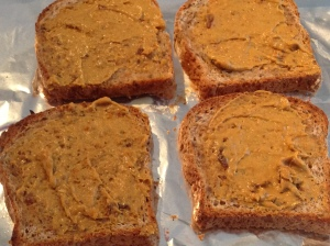 toast with nutritional yeast sauce